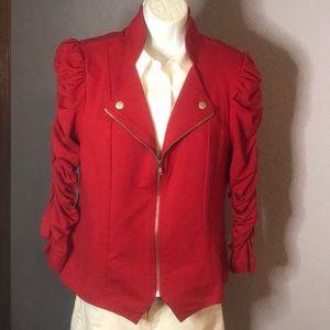 John Paul Richard Coolest Sleeves/Med Red Jacket